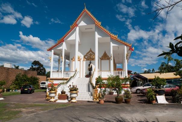 Bonnyrigg, światynia buddyjska (Laos)