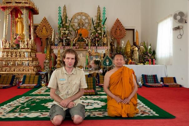 Ja oraz mnich.